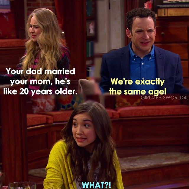 "#GirlMeetsWorld 2x06 ""Girl Meets the Tell-Tale-Tot"" - Maya, Cory and Riley"