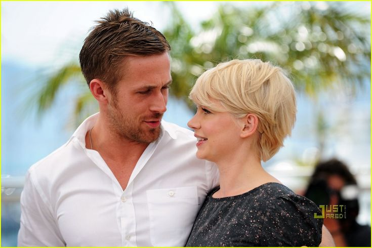 Michelle Williams pixie side view