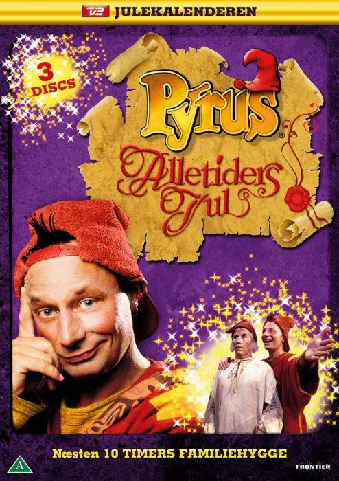 pyrus alletiders jul - julekalender - DVD