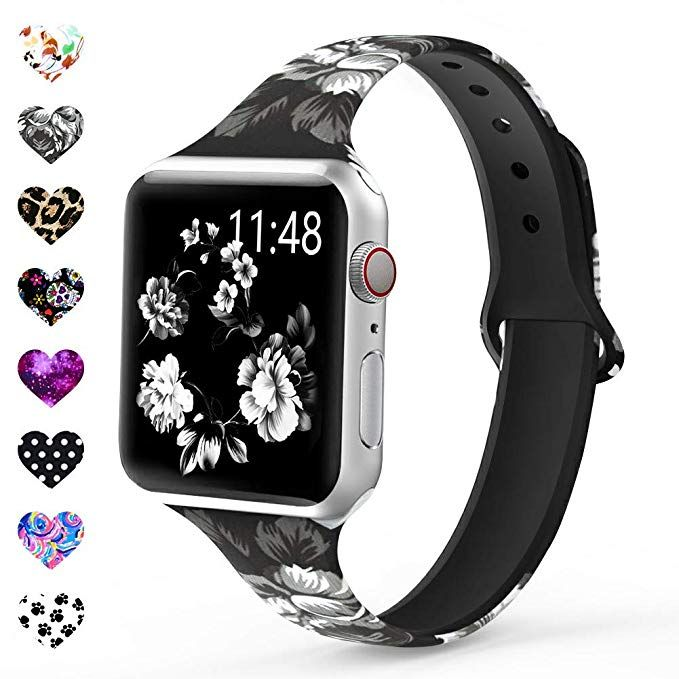 Merlion Compatible With Apple Watch Band 38mm 42mm 40mm 44mm For