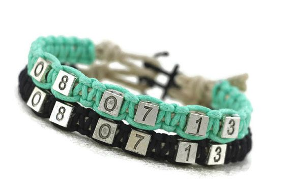 Hey, I found this really awesome Etsy listing at https://www.etsy.com/listing/172497681/couples-bracelets-set-anchor-bracelet