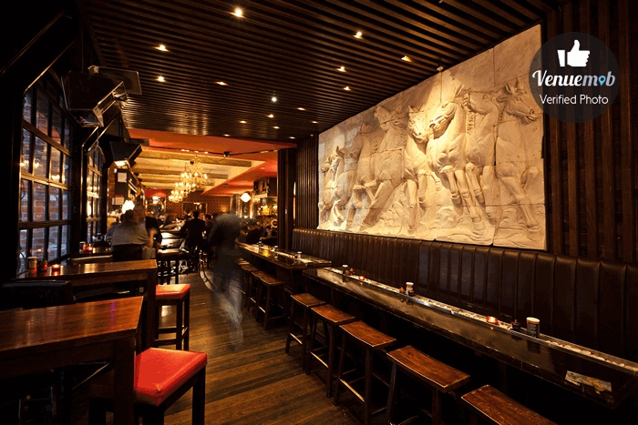 The Front Bar at Terra Rossa Restaurant and Bar