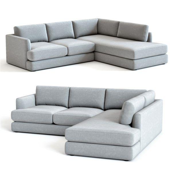 3d Model West Elm Haven Sectional Sofa Sectional Sofa Sofa Furniture Sofa Design