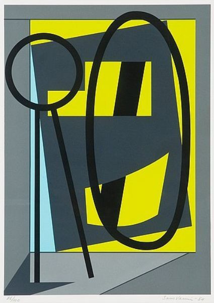 Sam Vanni (1908-1992) was a Finnish painter of Jewish origin. He is considered to be the pioneer of abstract art in Finland. In the 1940s Vanni started to move towards more abstract art. He was especially influenced by French artists like Henri Matisse and Pierre Bonnard. Sam Vanni was an active painter until his death in 1992. He was awarded by the Pro Finlandia and invited in the Academy of Finland in 1964.