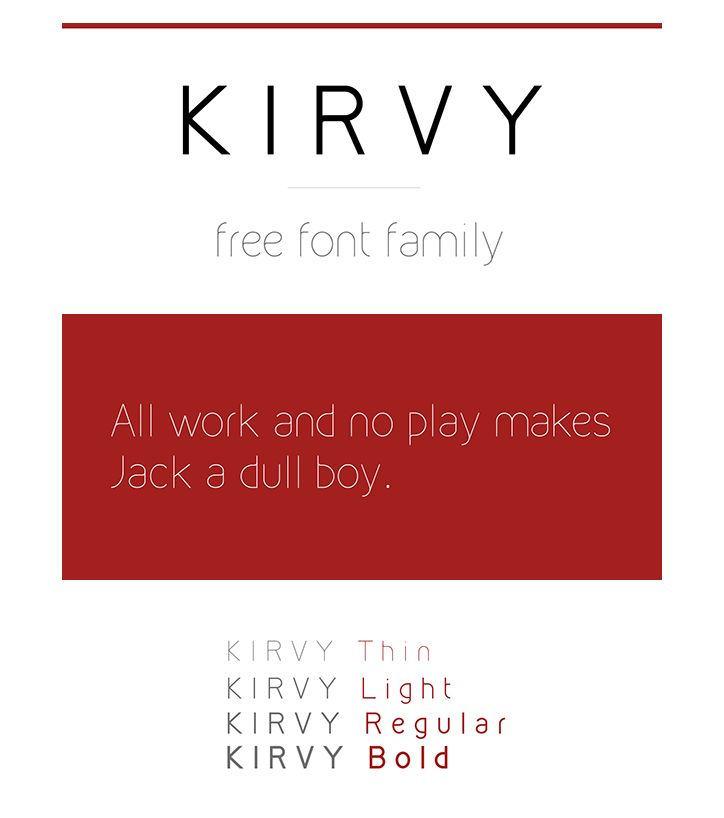 Find the perfect font for your minimalist design projects.