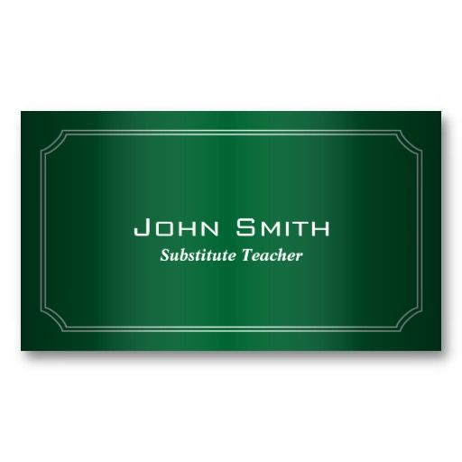 48 best of gallery of substitute teacher business cards business