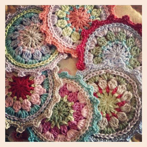 Crochet coasters   Flickr - Photo Sharing!