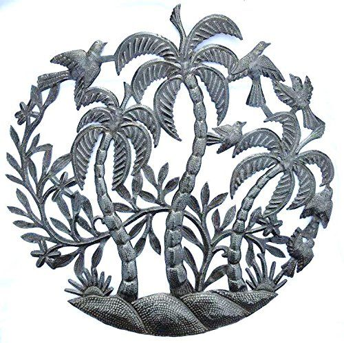 Palm Tree Metal Wall Art 11 best metal art images on pinterest | palm trees, metal art and
