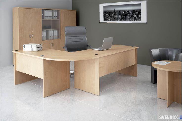 #Meble biurowe #EKO to biurka o konstrukcji płytowej, składające się ze stabilnej podstawy oraz grubego blatu zabezpieczonego obrzeżem PVC 2mm. Gwarantują wieloletnią trwałość precyzje wykonania. Ergonomiczne #biurka w połączeniu z mobilnymi kontenerami tworzą otwarta powierzchnie do pracy.
