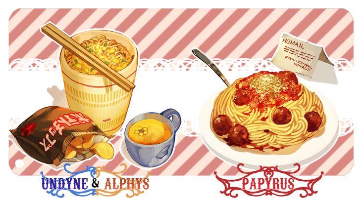 Cuisine d'Undyne, d'Alphys et de Papyrus