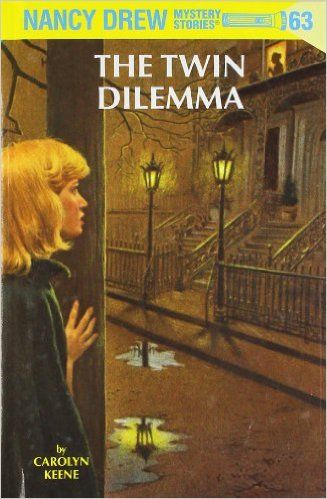 NANCY DREW MYSTERY TWIN THRILLER DOUBLE #7 CLUE IN DIARY,#8 MYSTERIOUS LETTER