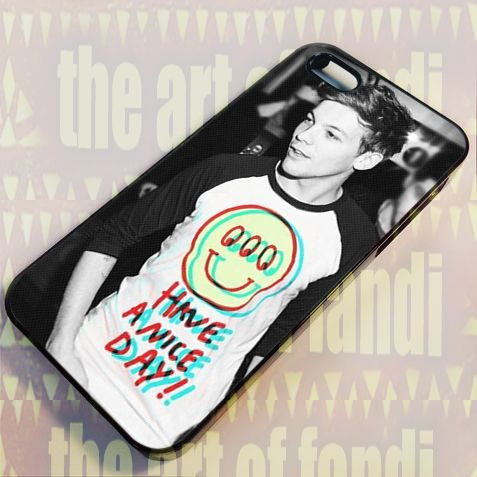 Louis Tomlinson One Direction For iPhone 5/5c/5s Black Rubber Case