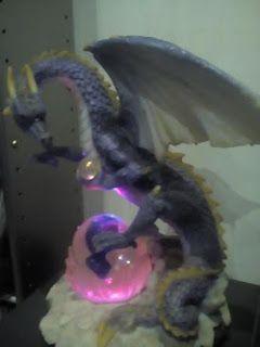Dragões na decoração da casa