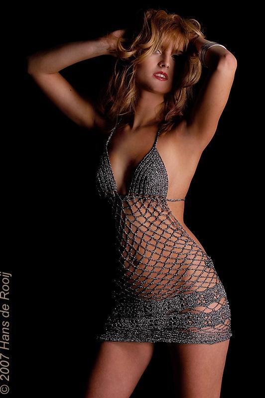 crochet dress ' argenté'  www.steello.com