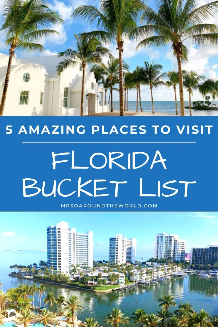 Best Places To Visit In Florida 2020 Mrs O Around The World Cool Places To Visit Travel Usa Florida Travel
