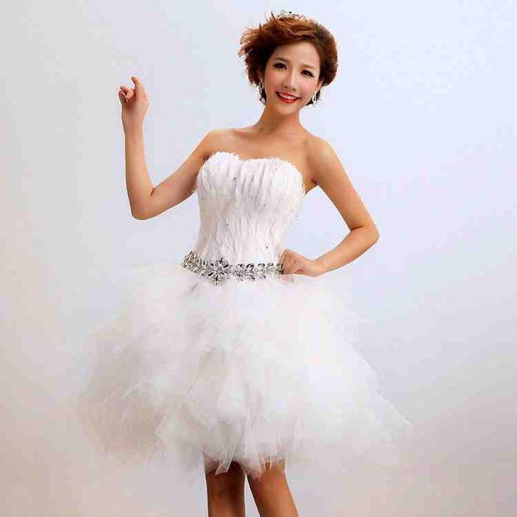 51 best Short Wedding Dresses images on Pinterest Wedding