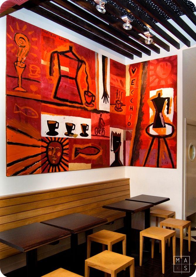 70 melhores imagens sobre pequenas cafeterias no pinterest for Mobiliario para cafes