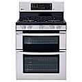 LG Gas Double Oven Range Model #LDG3036ST