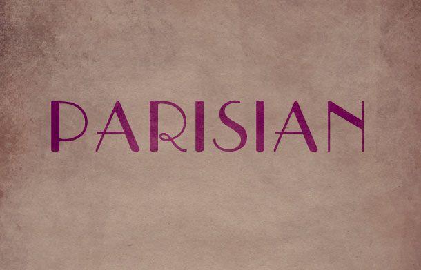 Parisian - Free Font