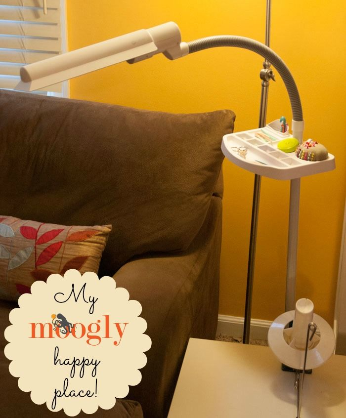 @moogly Reviews The OttLite 18w Sewing Floor Lamp With Accessory Tray
