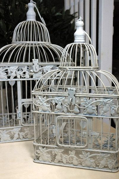Birdcages!Birds Cages, White Sets, Wedding White, Vintage Birds, Saving On Crafts, Cards Holders, Crafts Website, Cards Boxes, Happy Marriage