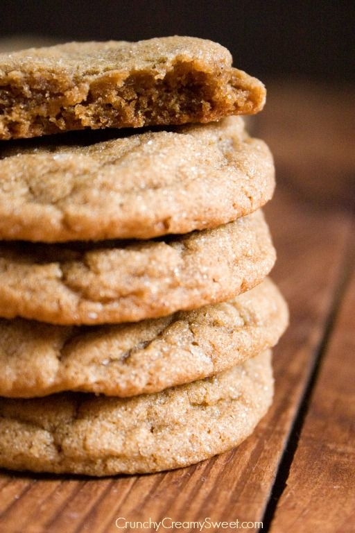 Gingerbread Snickerdoodles Recipe ~ Classic Snickerdoodle cookie gets a holiday makeover with gingerbread flavors.