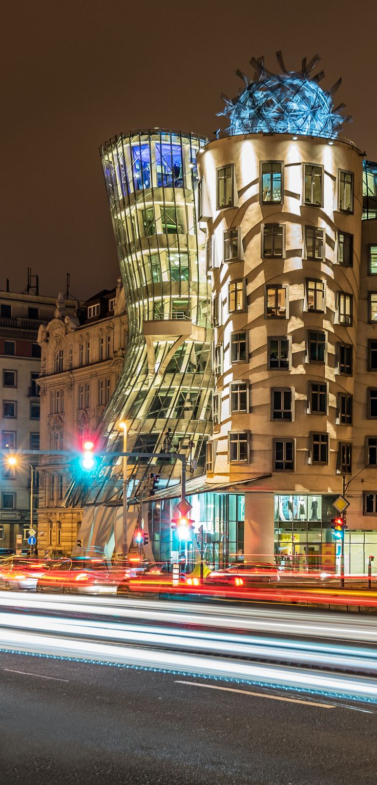 Dancing House by Frank O. Gehry