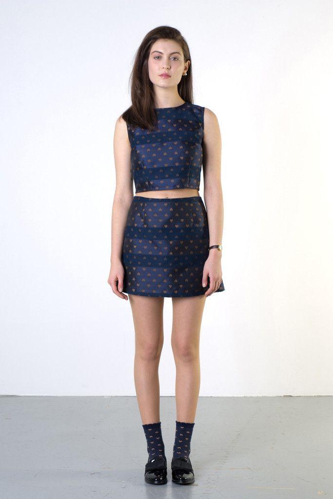 TWENTY-SEVEN NAMES Paris Crop Top New Zealand Designer - NZ Designer Shop now www.livsnz.com