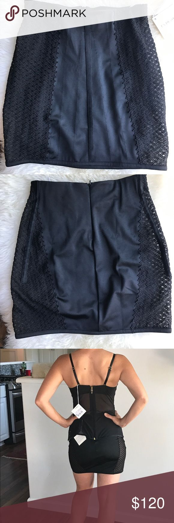 Stunning La perla mini skirt Gorgeous La Perla mini skirt. Can be worn out or as lingerie.  Lycra body contouring fit with sheer lace side panels.  Invisible zipper closure. 15 inches in length. La Perla Intimates & Sleepwear