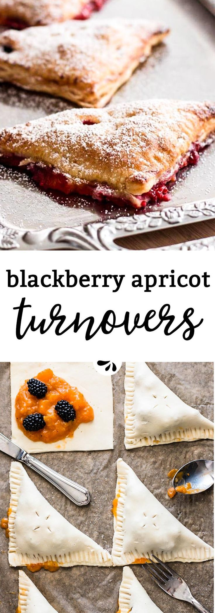 Are you looking for a scrumptious summer treat? Then this turnover recipe is for you! Made with blackberries and apricots, the from scratch filling is so good when eaten warm. The crust is easily made with store-bought puff pastry for a wonderful summer dessert. Hand pies are always everyone's favorites!