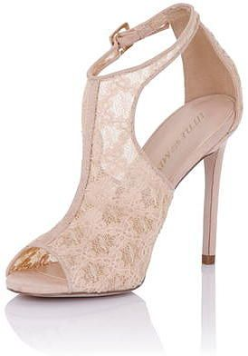 Womens blush little mistress nude cut out shoe boot from Dorothy Perkins - £52 at ClothingByColour.com