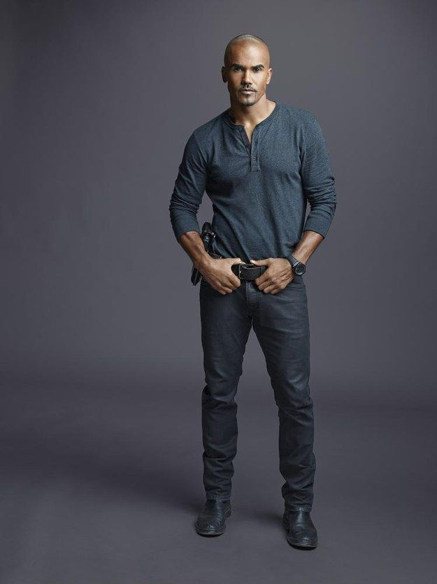"And this. | 25 Reasons To Love Derek Morgan From ""Criminal Minds"""