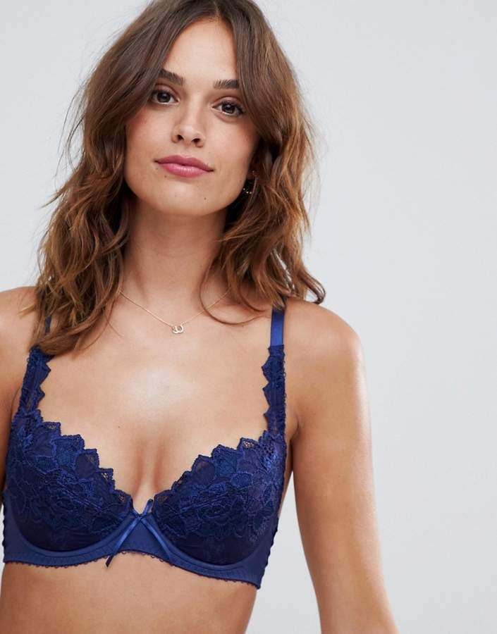 d94386095a Lepel Fiore Padded Plunge Bra  Fiore Lepel Padded