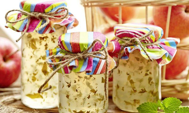 Galaretka jabłkowa z melisą - niepowtarzalny smak jabłek i uspokajającej melisy #recipe Dr. Oetker Polska