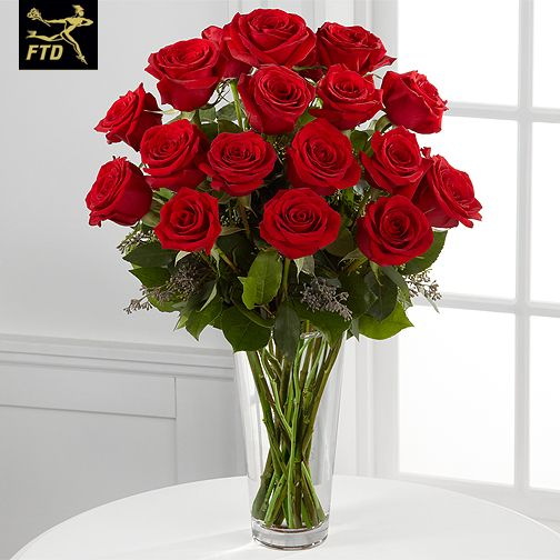 FTD Red Roses Bouquet E2 4305 Valentines Day