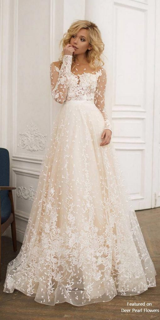 Muse – Open Back Long Sleeves Wedding Dress