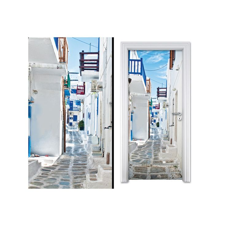 Door sticker GREEK SUMMER by Sticky!!!