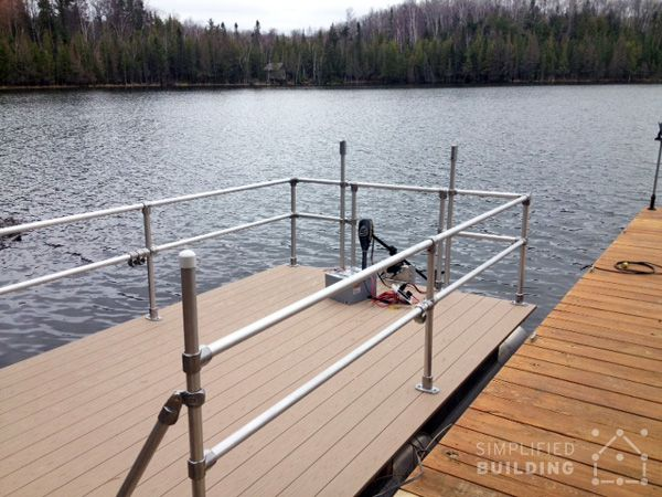 Replacement Pontoon Boat Railings : Best images about pipe railing on pinterest metal