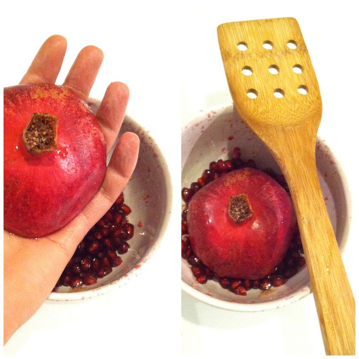 De-seed pomegranate easily