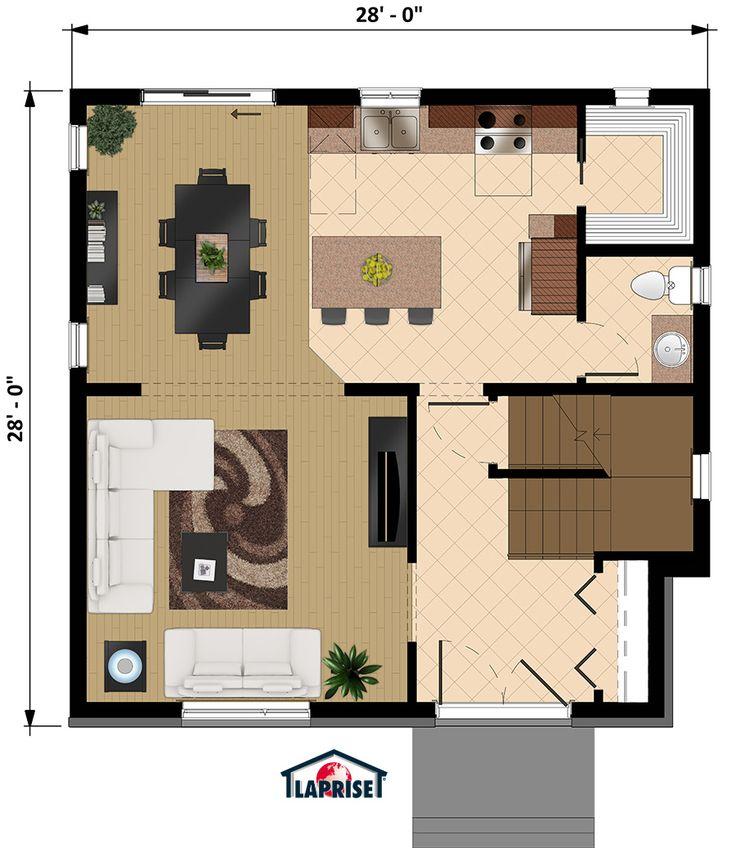 18 best Maison images on Pinterest Home ideas, Apartments and - epaisseur dalle beton maison