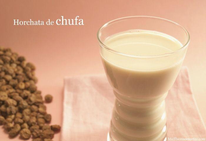 Horchata de chufa - MisThermorecetas