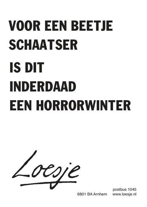 Horrorwinter - Loesje