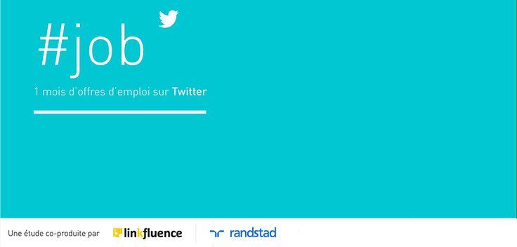 Etude Randstad Linkfluence : Twitter, une solution pour l'emploi ?