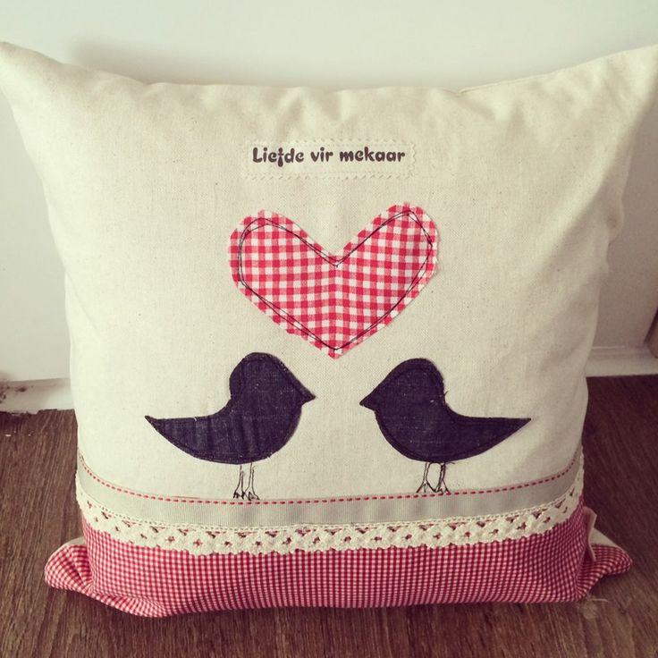 7 besten Applique cushions Bilder auf Pinterest | Kissen nähen und ...