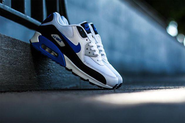 Nike Air Max Chase White Black Blue