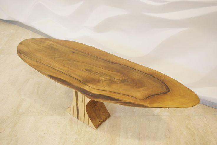 Stolik kawowy orzech w Art Wood Kawkowo na DaWanda.com
