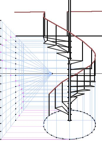huge help drawing stairs in perpective