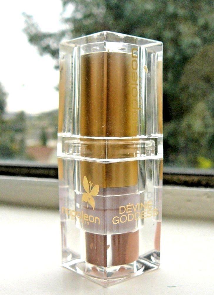 Napoleon Perdis Nude Lipstick Devine Goddess Demeter NEW .13 oz Clear Acrylic #NapoleonPerdis
