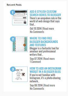 Cara Mempercantik Blog Dengan Widget Artikel Terbarucara ngeblog di http://www.nbcdns.com