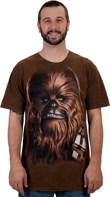 Big Face Chewbacca Shirt